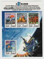 # TAAF - 2000 - Le 3° Millenaire - BF 4 - 4 Stamps Sheet MNH - Non Classés