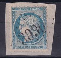 D 178 / LOT CERES N° 60A OBL / GC 3030 INDICE 17 - 1871-1875 Ceres
