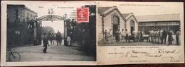 Carte Lettre Militaire Double, Reims Marne 51, Régiment De Dragons - La Corvée Du Quartier, écrite 2/04/1913 - Régiments
