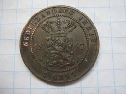 Netherlands East Indies 1 Cent 1897 - Dutch East Indies