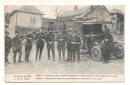 Guerre De 1914 - 80 - Automobile De La Poste Transportant La Correspondance Des Militaires Sur Le Front - 1915 - Albert