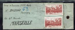 Fr - Affranchissement à 30 Fr Sur Etiquette De Colis Pour Marseille - B/TB - - WW II