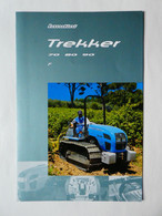 CL39 4 Pg Tracteur Agricole LANDINI Trekker 70 80 90 Italia Tractor Trattori Traktor Publicité Brochure Publicitaire - Agriculture