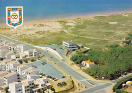 85 Saint Hilaire De Riez Les Marines Hotel De L'Escale (Carte écrite) - Saint Hilaire De Riez