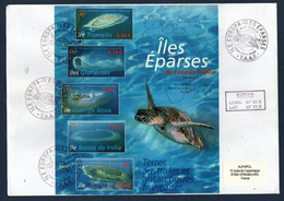 TAAF Iles Eparses Ile Europa Bloc S/env (scan Recto Verso) SUP  RR - Non Classés