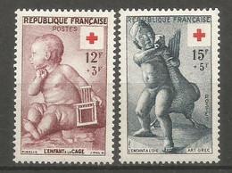 Timbre France Neuf * N 1048/1049 - Ongebruikt