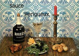 Recettes De Cuisine - Sauce Périgueux - Gastronomie - CPM - Voir Scans Recto-Verso - Recipes (cooking)