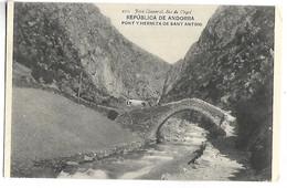REPUBLICA DE ANDORRA - Pont Y Hermita De Sant Antoni - Andorre