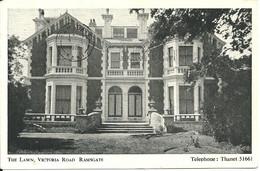 THE LAWN, VICTORIA ROAD - RAMSGATE - KENT - POSTALLY USED 1961 - Ramsgate