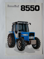 CL26 4 Pg Tracteur Agricole LANDINI 8550 Italia Almacoa Tractor Trattori Traktor Publicité Brochure Publicitaire - Agriculture