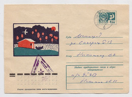 Military Field Post Cover Mail Used Stationery RUSSIA USSR Europe Alteslager Germany - Militaria