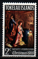 TOKELAU ISLANDS - 1969 - Christmas - Nativity, By Federico Fiori - MNH - Tokelau