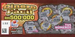 République Dominicaine Loterie Instantanée Dinero Facil - Lottery Tickets