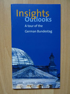 """A Tour Of The German Bundestag"", Englisch, 50 Seiten _ Berlin - 1950-Now"