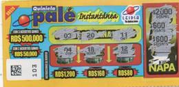 République Dominicaine Loterie Instantanée Quiniela Palé - Lottery Tickets
