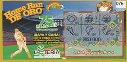 République Dominicaine Loterie Instantanée Home Run De Oro - Lottery Tickets