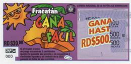 République Dominicaine Loterie Instantanée  Gana Facil - Lottery Tickets