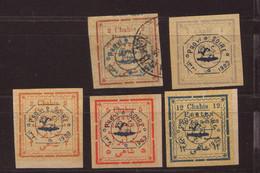 Iran Divers Timbres 1902/03 - Iran