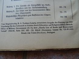 Lateinbuch, Unmittelbare Nachkriegszeit, Mit Freigabe Durch US-Regierung - Libri Vecchi E Da Collezione