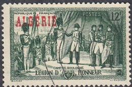 Algeria, Scott #260, Used, Legion Of Honor Overprinted, Issued 1954 - Gebraucht
