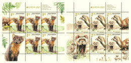 Europa CEPT 2021 BULGARIA Protected National Wildlife (Pre Order !!!) - Fine 2 Sheets MNH - Nuevos