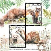 Europa CEPT 2021 BULGARIA Protected National Wildlife (Pre Order !!!) - Fine S/S MNH - Nuevos