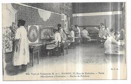 Aubusson Tapis Et Tapisserie R. Et L. Hamot, 75, Rue De Richelieu Paris Manufacture D' Aubusson Atelier De Peinture - Aubusson