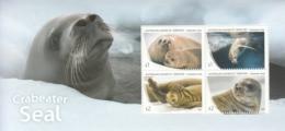2018 Australian Antarctic Territory Seals Souvenir Sheet MNH  @ BELOW Face Value - Neufs