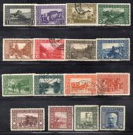 Q491 - BOSNIA ERZEGOVINA 1908 , La Serie N. 29/44 Usata : Dentellata 12 1/2 (CRT) - Bosnië En Herzegovina