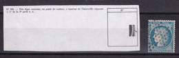 D 180 / LOT CERES N° 60A OBL / PLANCHE G3 / N° 87 - 1871-1875 Ceres
