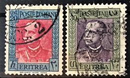 ERITREA 1931 - Canceled - Sc# 151, 152 - Erythrée