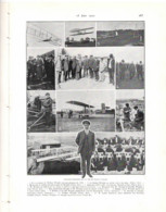 L Aérophile 1912 WILBUR WRIGHT - AVIETTE AEROPLANE BREGUET REP - Avion Aviateur - 1900 - 1949
