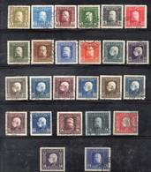 Q492 - BOSNIA ERZEGOVINA 1912 , La Serie N. 64/84 Usata : KuK (CRT) - Bosnië En Herzegovina