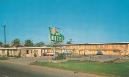 Harbor City California, Rose Motel, Autos, C1950s/60s Vintage Postcard - Andere