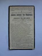 VAN ROOSBROECK JOANNES ANTONIUS °SCHRIEK 1865 + BERLAAR 1932 - Devotion Images