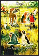 Dogs Sheetlet Malawi 2012 MNH - Dogs