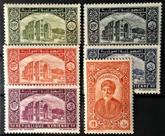 SYRIE 1934 - MLH - YT 221-226 - Unused Stamps