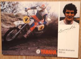 MOTORCROSS YAMAHA, ANDRE VROMANS, Kaart 1 - Unclassified