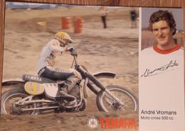 MOTORCROSS YAMAHA, ANDRE VROMANS, Kaart 2 - Unclassified