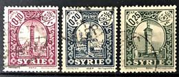 SYRIE 1930-36 - Canceled - YT 200-202 - Oblitérés