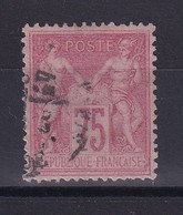 D 181 / LOT SAGE N° 81 OBL COTE 150€ - 1876-1898 Sage (Type II)