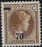 Luxembourg - Luxemburg - Timbres 1935  Charlotte  70 / 75c. MNH**  VC 32,- - 1926-39 Charlotte Rechtsprofil