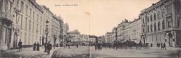 Antwerpen Anvers Dubbele Postkaart La Place De Meir Koetsen De Meir Unieke Kaart!  M 7320 - Antwerpen