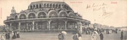 Oostende Dubbele Postkaart Anno 1902 Verzonden Panorama Du Kursaal Panorama Van Het Kursaal Belle Epoque   M 7322 - Oostende