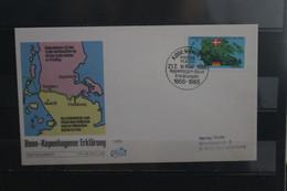 Dänemark 1985, Bonn-Kopenhagener Erklärung; FDC - European Ideas