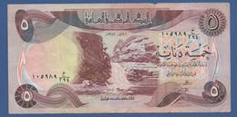 IRAQ - P.70a – 5 DINARS 1981 - Circolato - Iraq