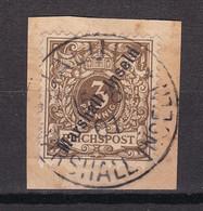 Deutsche Kolonie: Marshall-Inseln - 1899 - Michel Nr. 7 - Briefst. - Colony: Marshall Islands