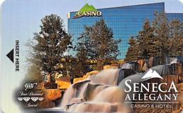 Seneca Allegany Casino - Allegany, NY - Hotel Room Key Card - Hotel Keycards