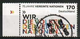BRD 2020  Mi.Nr. 3549 , Wir Sind Völker Der Vereinten Nationen - Gestempelt / Fine Used / (o) - Usati