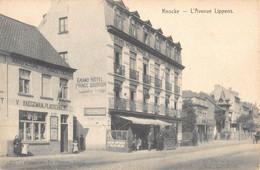 Knokke Knocke  L'Avenue Lippens Lippenslaan Grand Hotel Prince Baudouin Manufacture Tabac  Hargeman Plasschaert   M 7364 - Knokke